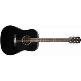 Fender CD-60, Black, with Case