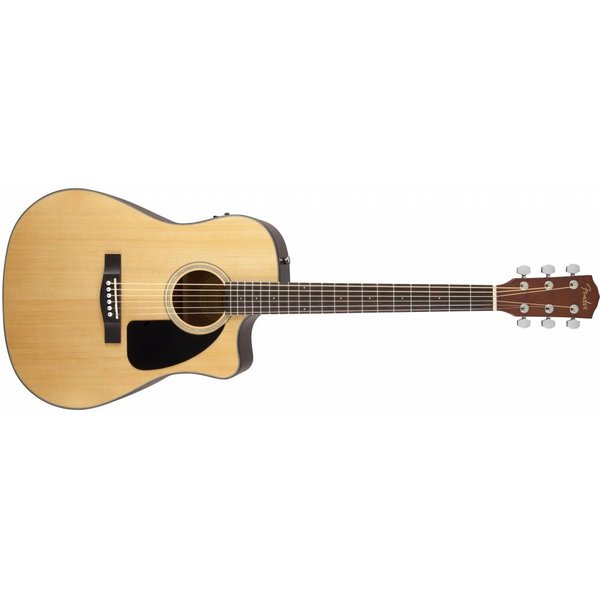 Fender CD-60CE, Natural, with Case