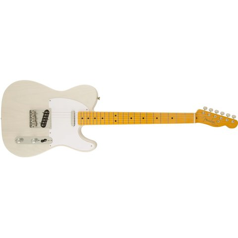 Classic Series '50s Telecaster Lacquer, Maple Fingerboard, White Blonde