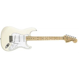 Fender Classic Series '70s Stratocaster, Maple Fingerboard, Olympic White