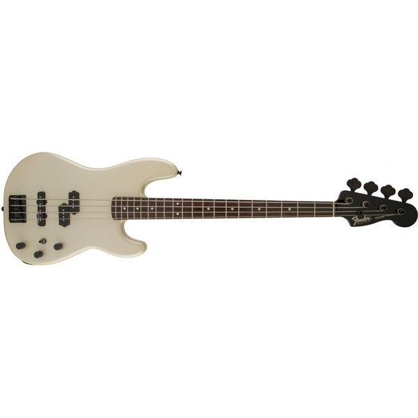 Fender Duff McKagan Precision Bass, Rosewood Fingerboard, Pearl White