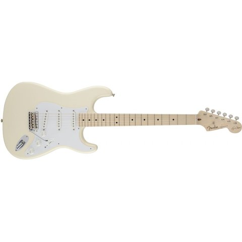 Eric Clapton Stratocaster, Maple Fingerboard, Olympic White