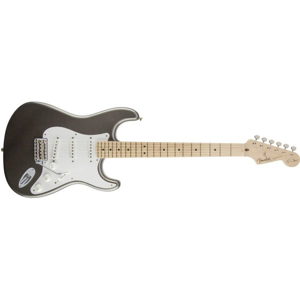 Fender Eric Clapton Stratocaster, Maple Fingerboard, Pewter
