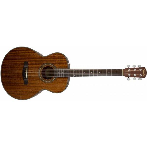 Fender FA-125S Folk Pack, All-Mahogany, Rosewood Fingerboard, Natural
