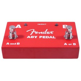 Fender Fender 2-Switch ABY Pedal, Red