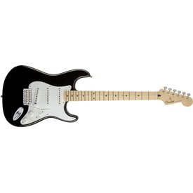 Fender Jimmie Vaughan Tex-Mex Strat, Maple Fingerboard, Black