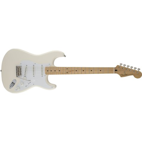 Jimmie Vaughan Tex-Mex Strat, Maple Fingerboard, Olympic White