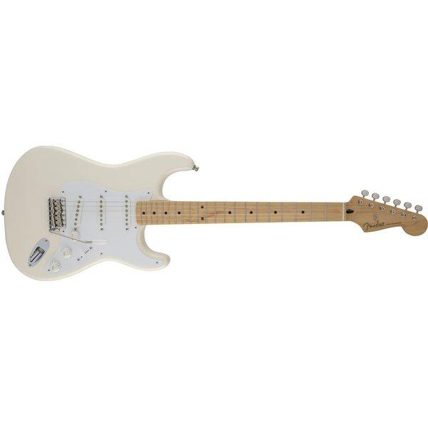 Fender Jimmie Vaughan Tex-Mex Strat, Maple Fingerboard, Olympic White