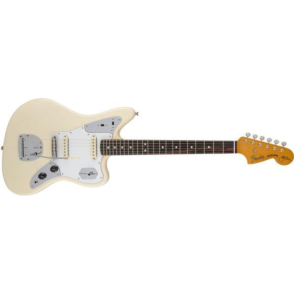 Fender Johnny Marr Jaguar, Rosewood Fingerboard, Olympic White