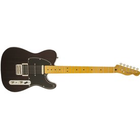 Fender Modern Player Telecaster Plus, Maple Fingerboard, Charcoal Transparent