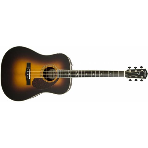 PM-1 Deluxe Dreadnought, Ebony Fingerboard, Vintage Sunburst