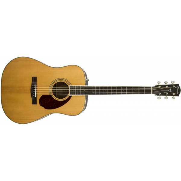 Fender PM-1 Standard Dreadnought, Rosewood Fingerboard, Natural