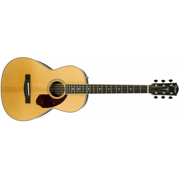 Fender PM-2 Deluxe Parlor, Ebony Fingerboard, Natural