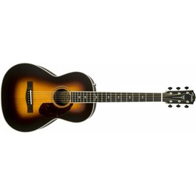 Fender PM-2 Deluxe Parlor, Ebony Fingerboard, Vintage Sunburst