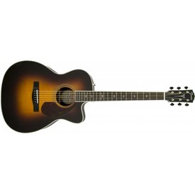 Fender PM-3 Deluxe Triple 0, Ebony Fingerboard, Vintage Sunburst