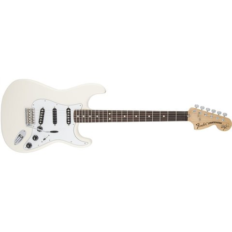 Ritchie Blackmore Stratocaster, Scalloped Rosewood Fingerboard, Olympic White
