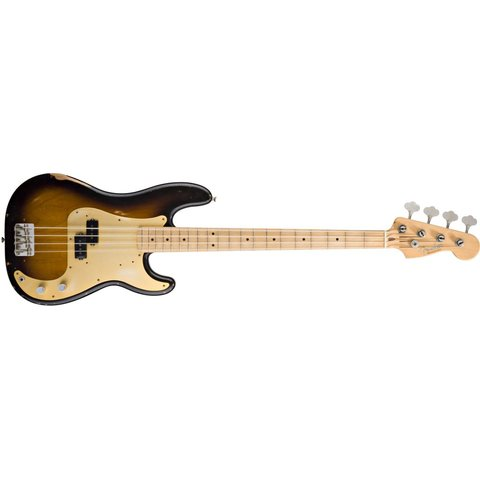 Road Worn '50s Precision Bass, Maple Fingerboard, 2-Color Sunburst