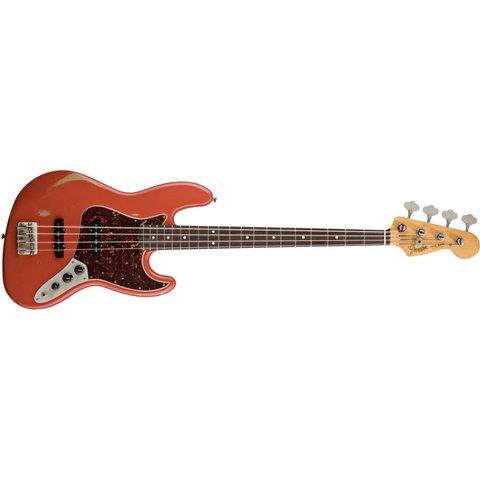 Road Worn '60s Jazz Bass, Rosewood Fingerboard, Fiesta Red