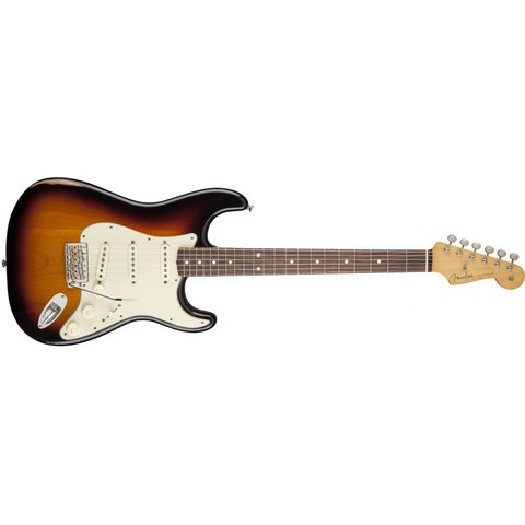 Road Worn '60s Stratocaster, Rosewood Fingerboard, 3-Color Sunburst