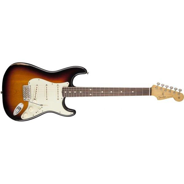 Fender Road Worn '60s Stratocaster, Rosewood Fingerboard, 3-Color Sunburst