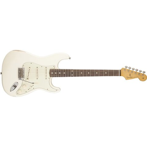 Road Worn '60s Stratocaster, Rosewood Fingerboard, Olympic White