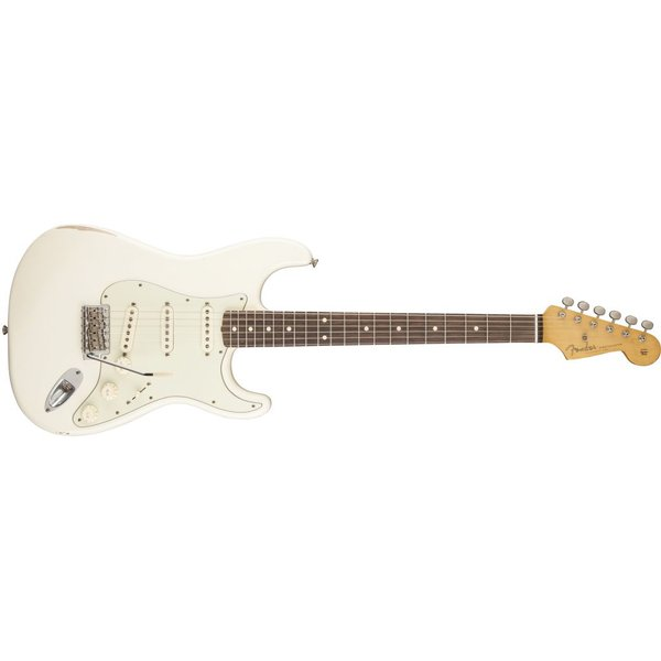 Fender Road Worn '60s Stratocaster, Rosewood Fingerboard, Olympic White