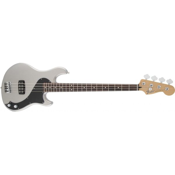 Fender Standard Dimension Bass IV, Rosewood Fingerboard, Ghost Silver