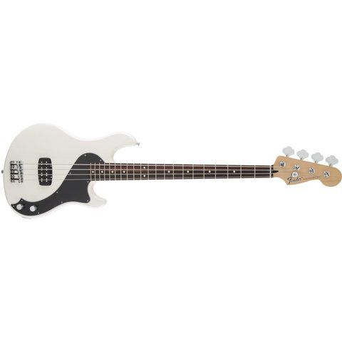 Standard Dimension Bass IV, Rosewood Fingerboard, Olympic White