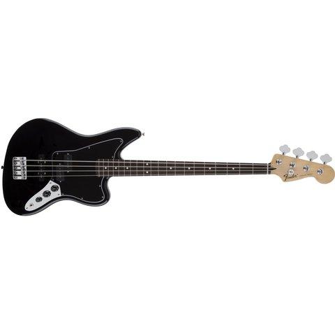 Standard Jaguar Bass, Rosewood Fingerboard, Black