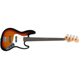 Fender Standard Jazz Bass Fretless, Rosewood Fingerboard, Brown Sunburst