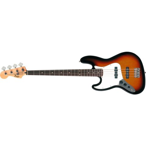 Standard Jazz Bass Left-Handed, Rosewood Fingerboard, Brown Sunburst