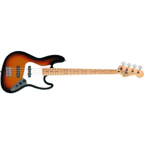 Standard Jazz Bass, Maple Fingerboard, Brown Sunburst
