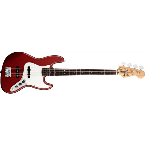 Standard Jazz Bass, Rosewood Fingerboard, Candy Apple Red