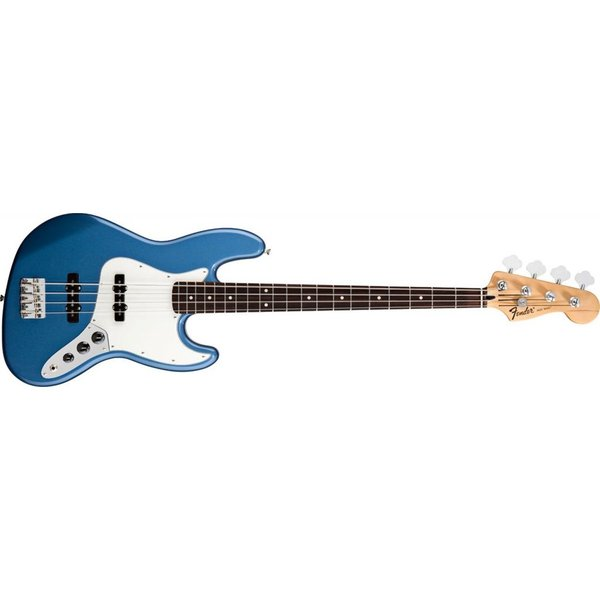 Fender Standard Jazz Bass, Rosewood Fingerboard, Lake Placid Blue