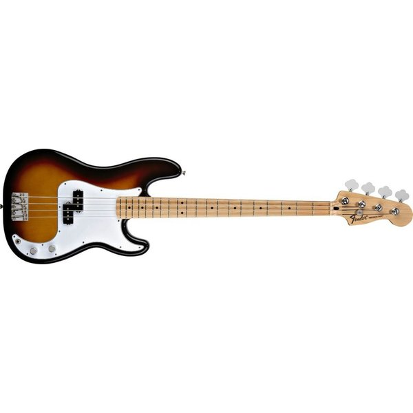 Fender Standard Precision Bass, Maple Fingerboard, Brown Sunburst