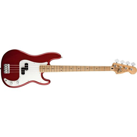 Standard Precision Bass, Maple Fingerboard, Candy Apple Red