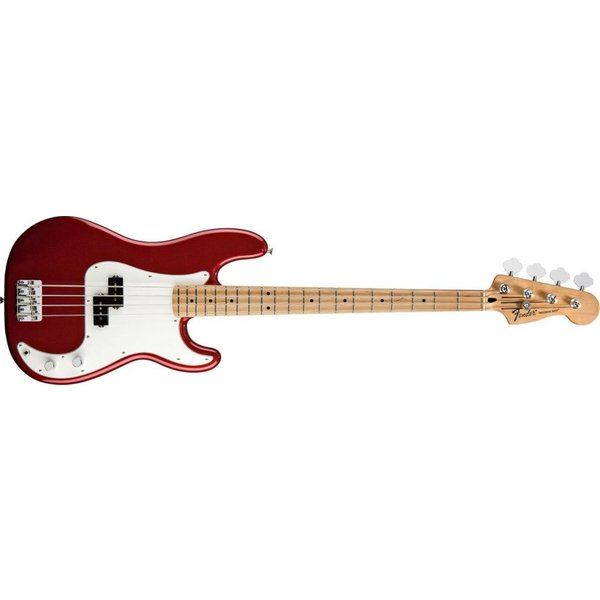 Fender Standard Precision Bass, Maple Fingerboard, Candy Apple Red