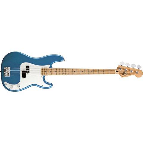 Standard Precision Bass, Maple Fingerboard, Lake Placid Blue