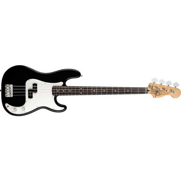 Fender Standard Precision Bass, Rosewood Fingerboard, Black