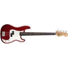 Fender Standard Precision Bass, Rosewood Fingerboard, Candy Apple Red