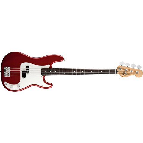 Standard Precision Bass, Rosewood Fingerboard, Candy Apple Red