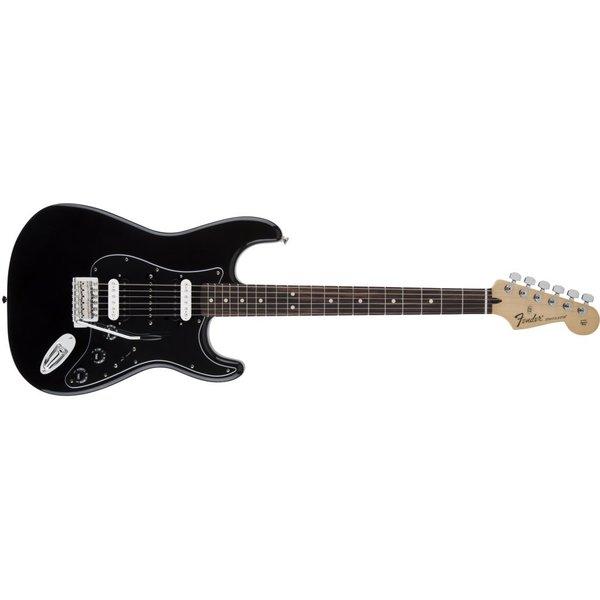 Fender Standard Stratocaster HSH, Rosewood Fingerboard, Black