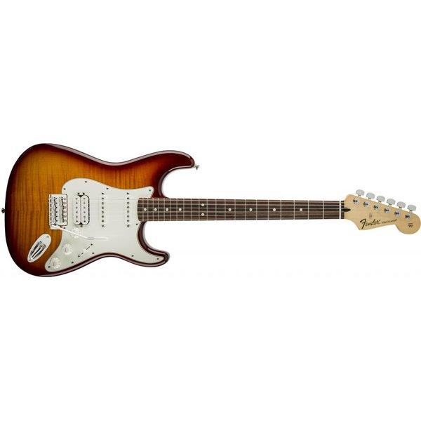 Fender Standard Stratocaster HSS Plus Top, Rosewood Fingerboard, Tobacco Sunburst
