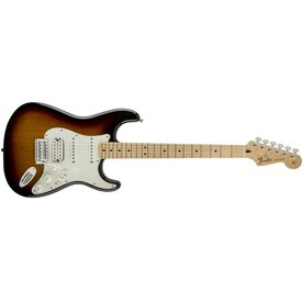 Fender Standard Stratocaster HSS, Maple Fingerboard, Brown Sunburst