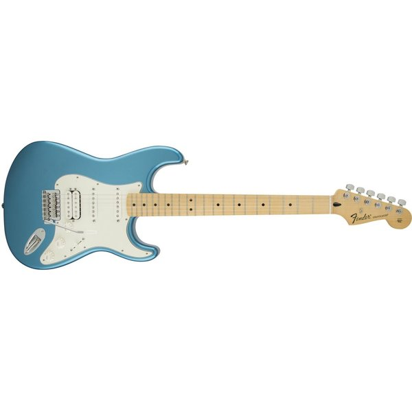 Fender Standard Stratocaster HSS, Maple Fingerboard, Lake Placid Blue
