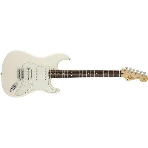 Standard Stratocaster HSS, Rosewood Fingerboard, Arctic White