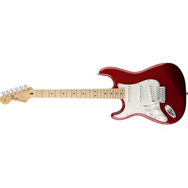 Fender Standard Stratocaster Left-Handed, Maple Fingerboard, Candy Apple Red
