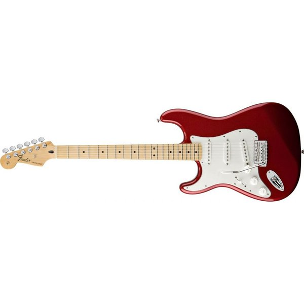 Fender Standard Stratocaster Left-Handed, Maple Fingerboard, Candy Apple Red