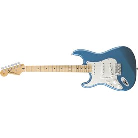 Fender Standard Stratocaster Left-Handed, Maple Fingerboard, Lake Placid Blue