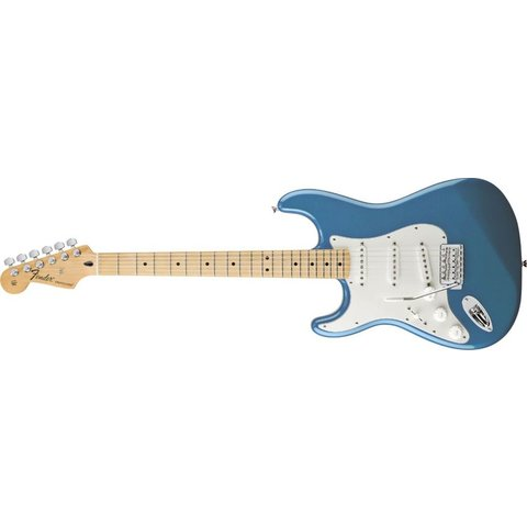 Standard Stratocaster Left-Handed, Maple Fingerboard, Lake Placid Blue